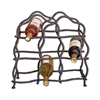 Wrought Iron South Fork 8-Bottle Wine Rack by Mathews & Co.