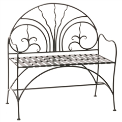 40-inch Courtyard Bench