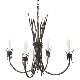 Rush Chandelier 4-Arm