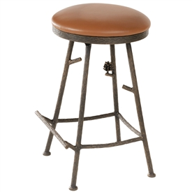 Pine Barstool (No Back) 25""