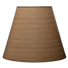 "Taupe Floor Lamp Shade 10"" x 18"" x 15"""
