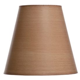 "Taupe Table Lamp Shade 8"" x 14"" x 13"""
