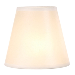 "Ivory Glow Table Lamp Shade, 8"" x 14"" x 13"""