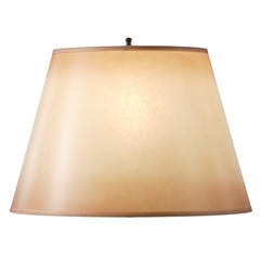 "Amber Glow Table Lamp Shade, 9"" x 14"" x 9.5"""