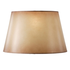 "Amber Glow Floor Lamp Shade, 14"" x 19"" x 12"""