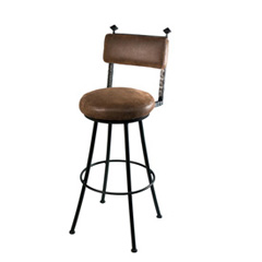 Forest Hill Round Barstool 25""