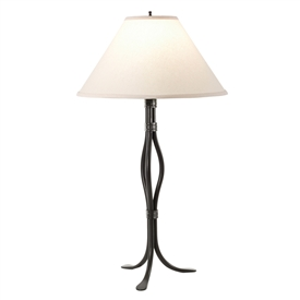 Pictured here is the Wrought Iron Dover Table Lamp by Stone County Iron Works
