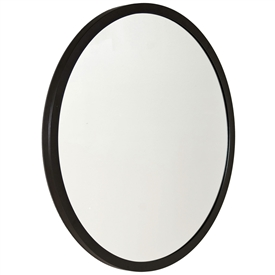 Pictured here is our Parson's 40-in Round Mirror with a simple iron frame and mirror.