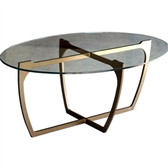 Fontana Cocktail Table By Charleston Forge