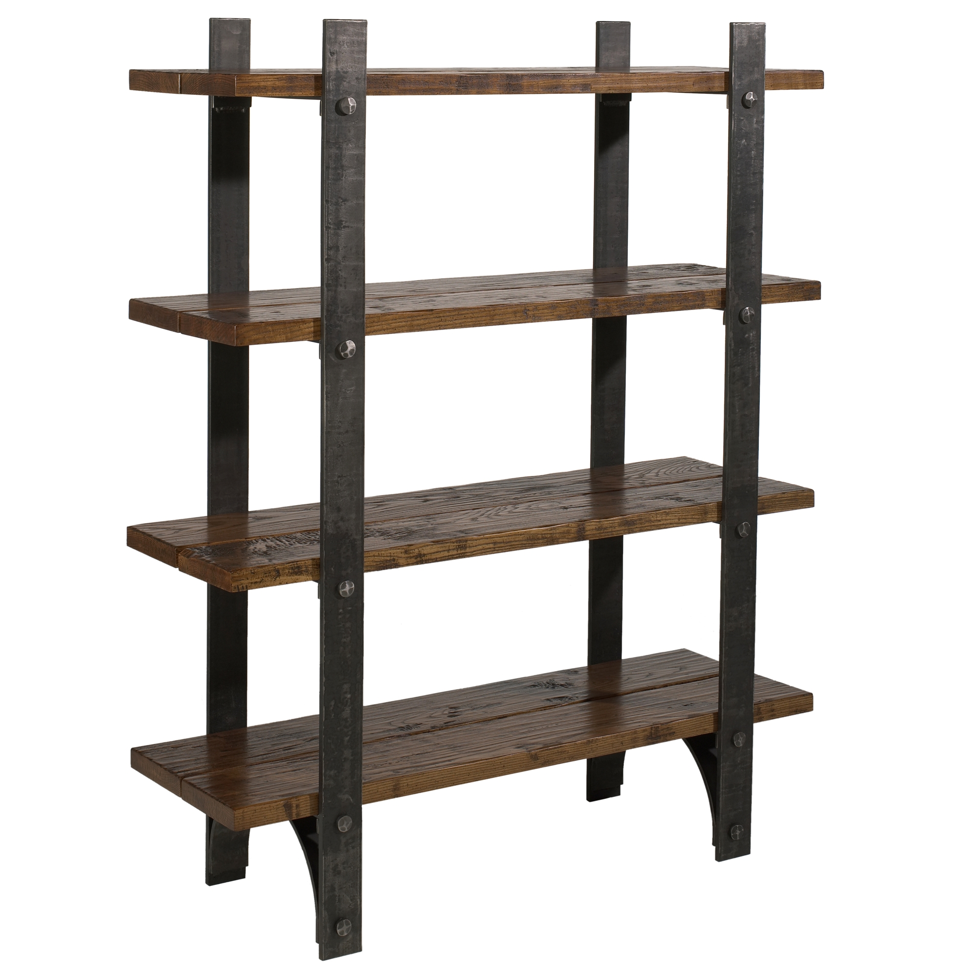 Wrought Iron Retreat Bookcase By Charleston Forge
