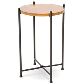 Medley Drink Table By Charleston Forge perfect small end table for drinks or decor.