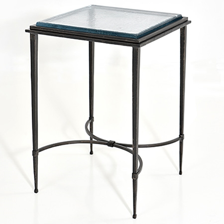 Pictured here is the Grace Drink Table manufactured by Charleston Forge.