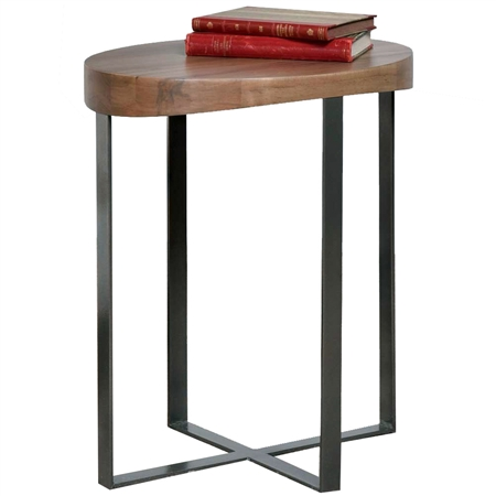 Pictured here is the Passage Drink Table manufactured by Charleston Forge.