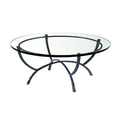 "Hudson 50"" Round Cocktail Table"