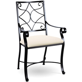 Camino Scroll Arm Chair