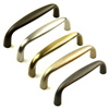 Yukon Solid Brass Pull 4in center by Century Hardware