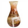 Pictured here is the Glass Salmon Table Urn from Couleur