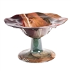 Pictured here is the Sugar Plum Ruffle Glass Bowl from Couleur