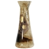 Pictured here is the Signature Glass Vase with Beige & Brown colors.