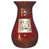 Pictured here is the Red Gold Tall Glass Vase from Couleur