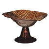 Pictured here is the Riviera Sand Glass Bowl from Couleur