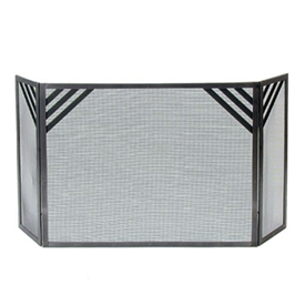 Enclume FPS2 Cheveron Fireplace Screen