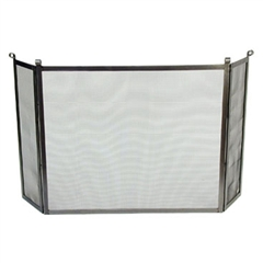 Enclume FPS3 Rolled End Fireplace Screen