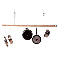 Enclume 60-inch Offset Hook Ceiling Bar Rack