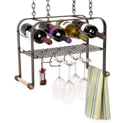 Enclume Hanging Wine & Accessories Center