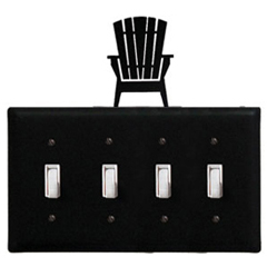 Wrought Iron Adirondack - Switch Cover QUAD