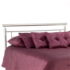 Chatham Iron Headboard Contemporary Design Satin Finish
