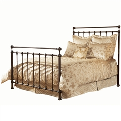 Langley Iron Bed Copper Penny Finish Traditional Design
