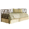 Miami Iron Daybed Sleek Contemporary Design Coffee Finish