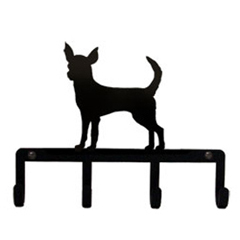 Wrought Iron Key Holder - Chihuahua