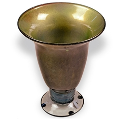 Pictured here is the Cool Breeze Glass Vase from Couleur