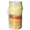 Pictured here is the Small Golden Rod Glass Jar from Mathews and Company