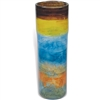 Pictured here is the Wild Flower Large Glassware Cylinder from Mathews and Company