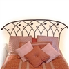 Pictured here is the Piney Woods Wrought Iron Bed hand forged by artisan blacksmiths.