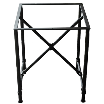 Pictured here is the Burlington Wrought Iron End Table Base