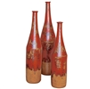 Pictured here is the Long Neck Ceramic Bottles Set of 3 from Mathews and Company