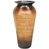 Pictured here is the Jefferson Small Stoneware Floor Vase from Mathews and Company