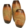 Pictured here is the Lando Stoneware Vases Set of 3  from Mathews and Company