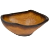 Pictured here is the handcrafted Taos Large Ceramic Bowl in our Aged Brown finish which measures 19 inches long by 13 inches wide by 8 inches high.