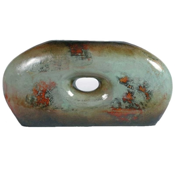 Pictured here is the Rock Ceramic Vase from Mathews and Company