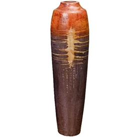 Pictured here is the Horizons Stoneware Vase 2 from Mathews and Company