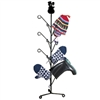 Wrought Iron Snowman Mitten Dryer