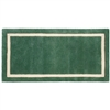Pictured is the Minuteman Mint Julep Rectangular Hearth Rug that measures 44-inch x 22-inch and meets CPSC Standard FF1-70 for flammability of carpets.