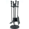 Pictured is the 5 Piece 22-in Mini Fireplace Tool Set manufactured by Minuteman