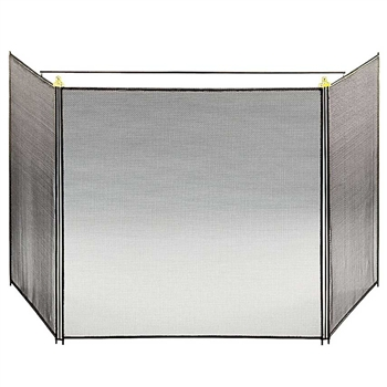 Pictured here is the Child Guard 3-Fold Fireplace Screen .