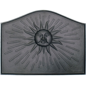 Pictured here is the Sun Fireback that measures 24-inch x 18-inch